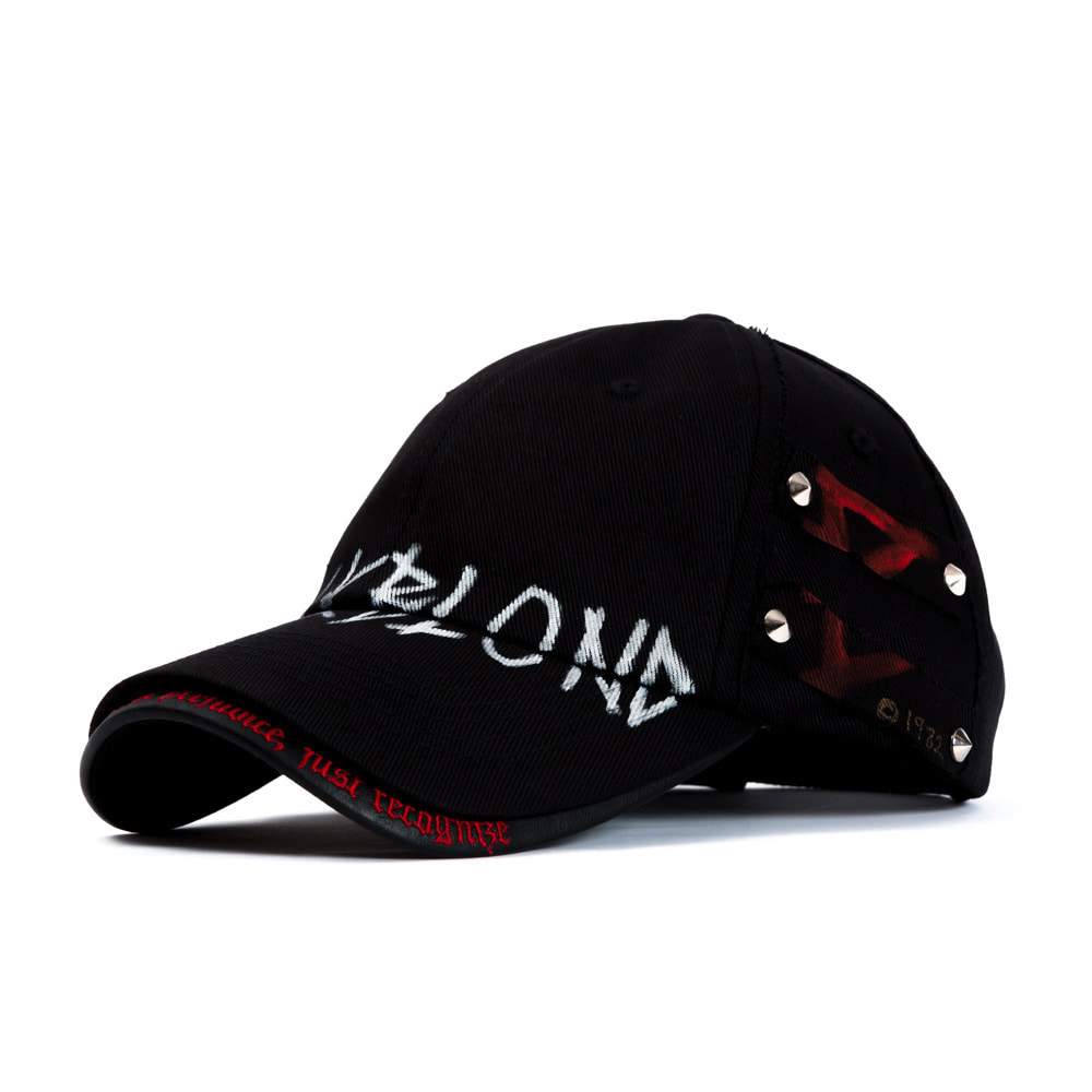 BBD Beyond Graffiti Logo Double Visor Cap (Black)