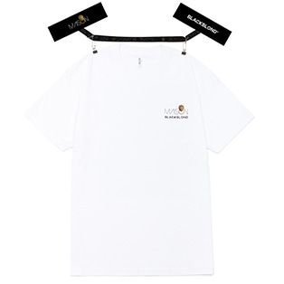 BLACKBLOND X MAISON Short Sleeve Tee (White)