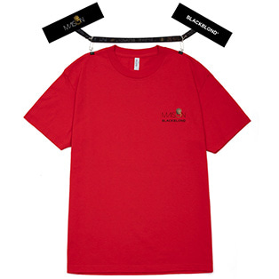 BLACKBLOND X MAISON Short Sleeve Tee (Red)