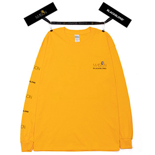 BLACKBLOND X MAISON Long Sleeve Tee (Yellow)