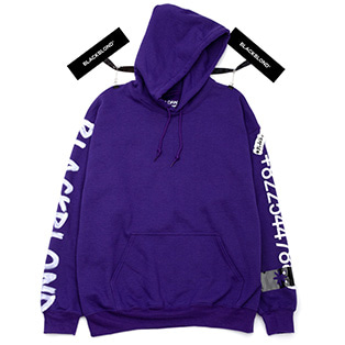 BBD Graffiti Number Hoodie (Purple)
